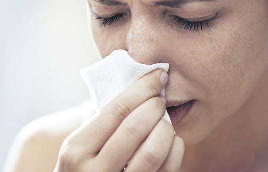 Ожоговая травма слизистой носа