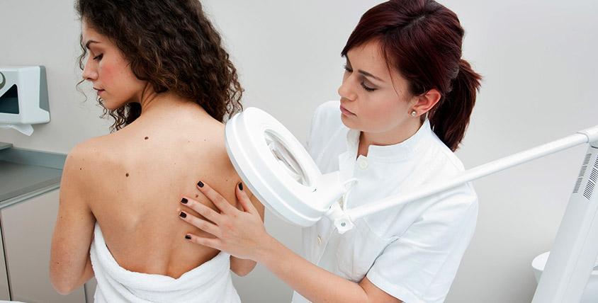 Обработка кожи перед лазерной эпиляцией