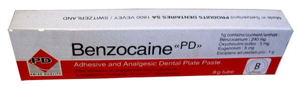 Анестетик бензокаин