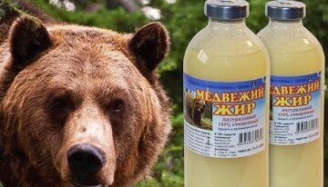 Медвежий жир при ожогах