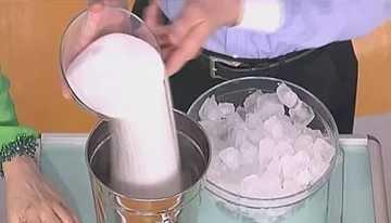 Ожог солью и льдом